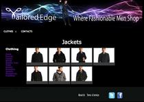 Tailored edge jackets cv