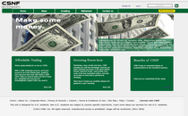 Csnf investments home page cv