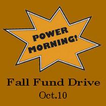 October fund drive cv