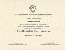 Dre.instructor.cert 001 cv