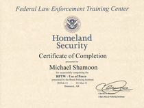Homelandsecurity.use of force 001 cv