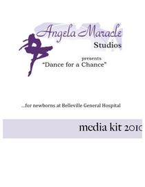 Dance for a chance media kit 1 cv