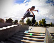 Skate kickflip6stair cv