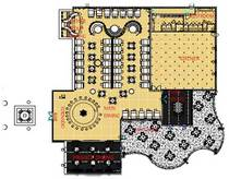 Restaurant floorplan cv
