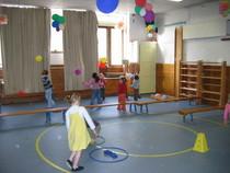 Ballonnen in de lucht houden cv
