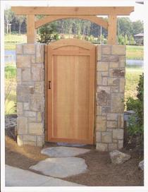 Gate and stone columns cv