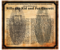 Billy the kid and pat garrett5 cv