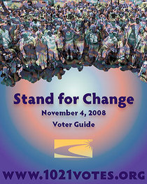 Cover stand for change cv