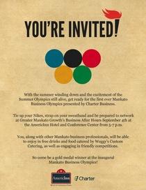 Bah email invite cv