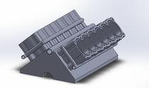 Cylinder v12 engine cv