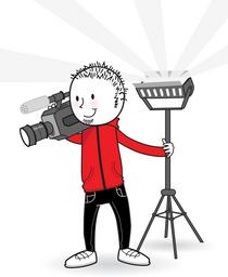 Video logo cv