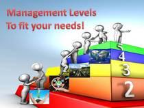 Management levels slider final cv