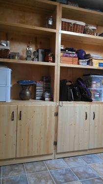 Steves cabinets cv