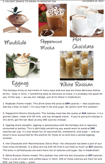 5 holiday drinks to drink in moderation cv