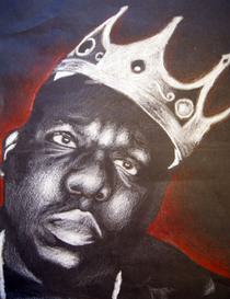Biggie smalls portrait cv