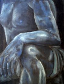 Blue charcoal knee study cv