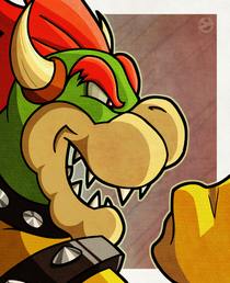 Bowser fan art cv