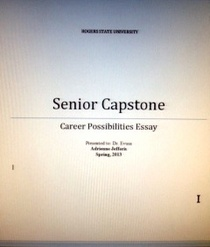 Career essay cover photo cv