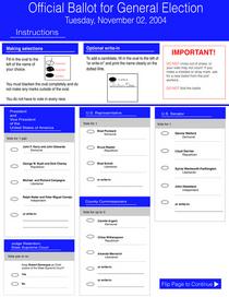 Print ballot 1 cv