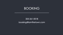 Business card back cv