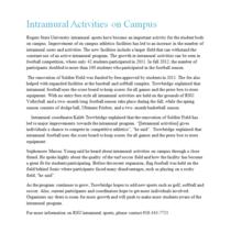 Internship news release cv