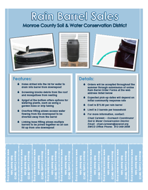 2012 rain barrel sales flyer cv