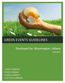 Green event guidelines icon cv