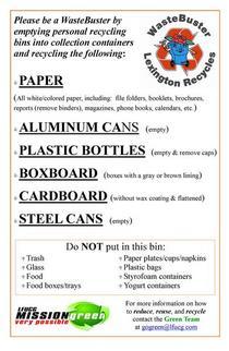 Gov center recycling cv