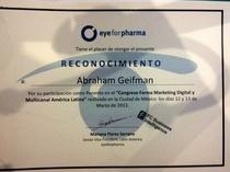 Diploma eyeforpharma cv
