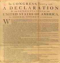 Declaration of independence cv