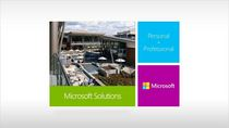 Microsoft solutions cv