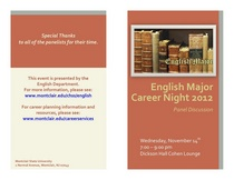 Csce english career night program cv