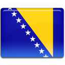 Bosnian flag icon cv