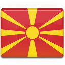 Macedonia flag icon cv