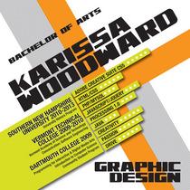 Woodward visual resume cv
