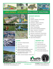 Land real estate solutions flyer4 cv