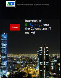 Insertion of 01s into colombia it market cv