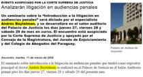Litigaci%c3%b3n corte suprema paraguay cv