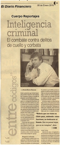 Diario financiero. inteligencia criminal 2  cv