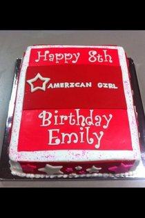 American girl cake cv