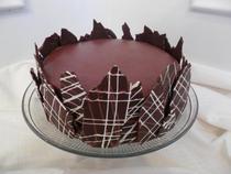 Chocolate ganache cake cv