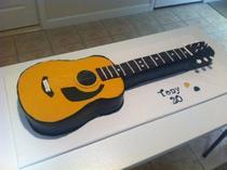 Tony s guitar cake cv