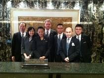 Concierge team mandarin oriental hong kong cv