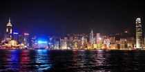 Hong kong skyline cv