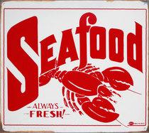 Seafood sign cv