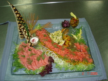 Cold plater cv