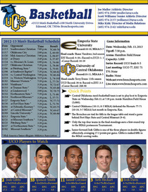 Uco game notes recent cv