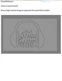Head phones sound  cv