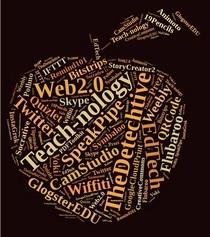 Technology word cloud cv