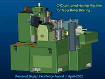Cnc honning machine cv